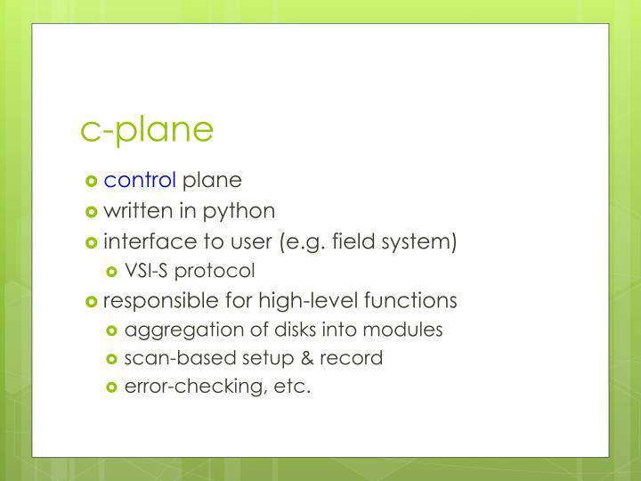 c-plane