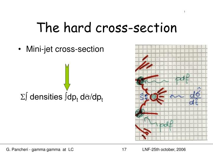 The hard cross-section