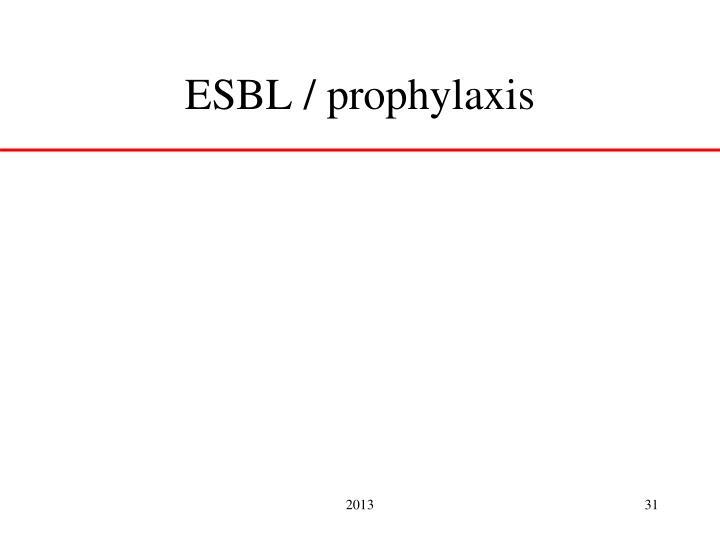 ESBL /