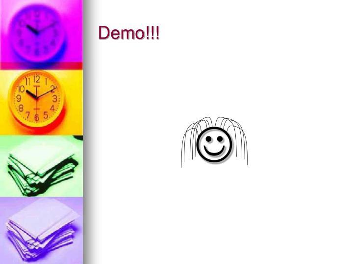Demo!!!
