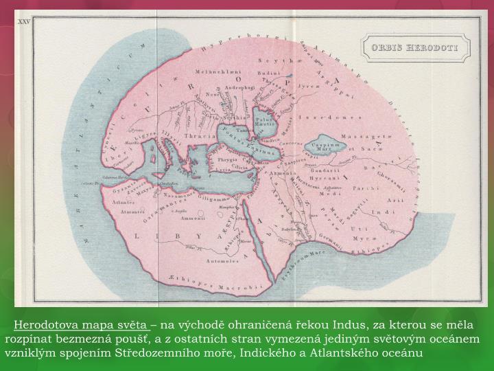 Herodotova mapa světa