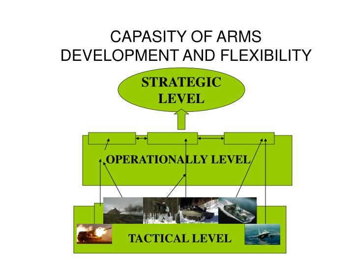 CAPASITY OF ARMS