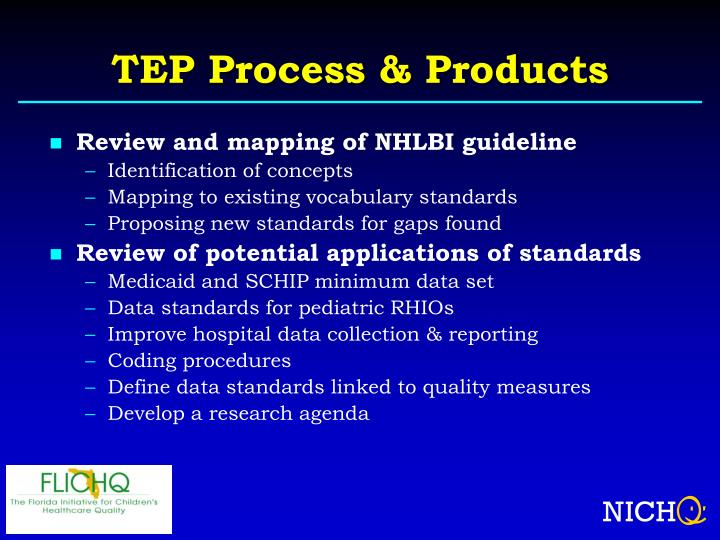 TEP Process & Products