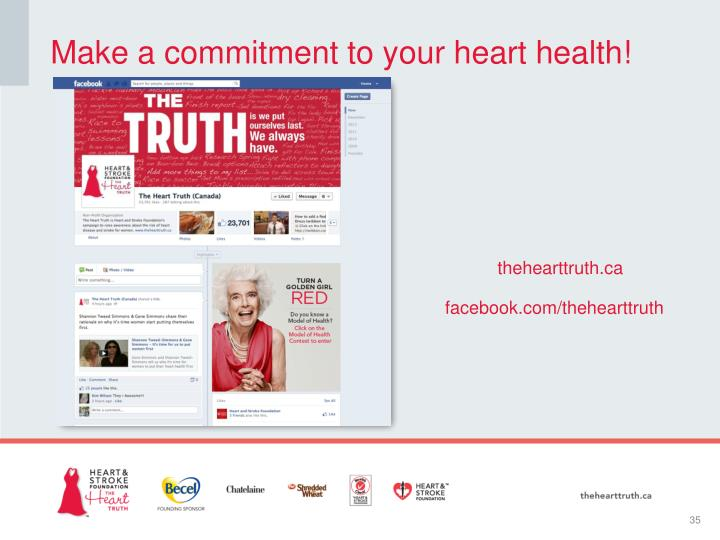 Make a commitment to your heart health!
