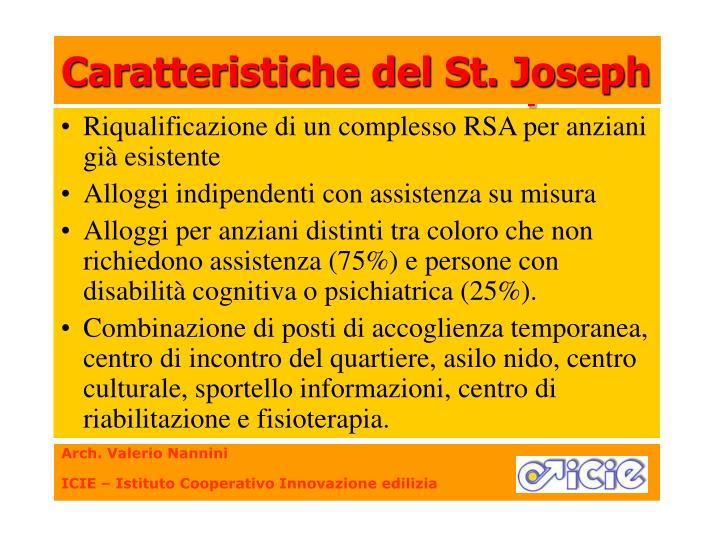 Caratteristiche del St. Joseph