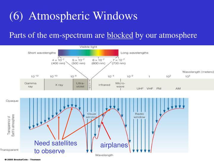 Need satellites to observe