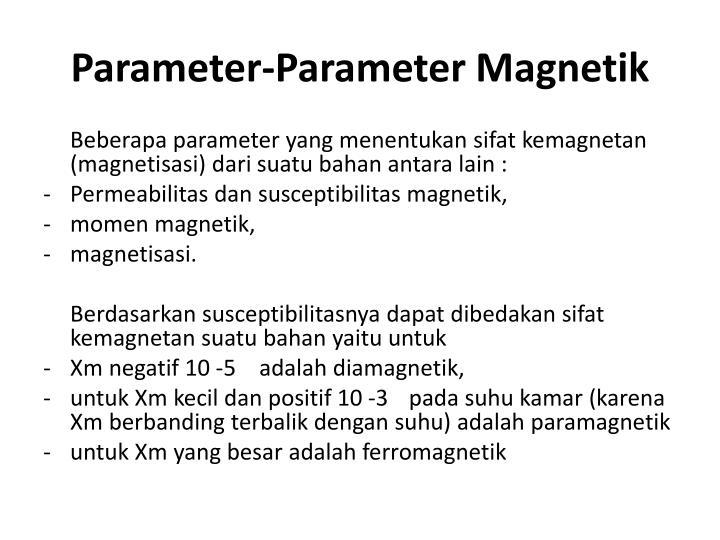 Parameter-Parameter