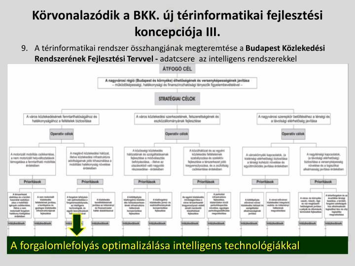Körvonalazódik a BKK. új térinformatikai fejlesztési koncepciója III.