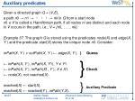 auxiliary predicates