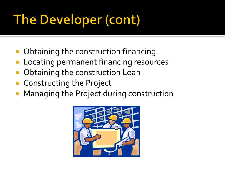 The Developer (cont)