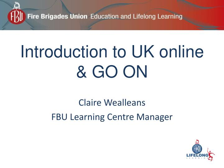 Introduction to uk online go on