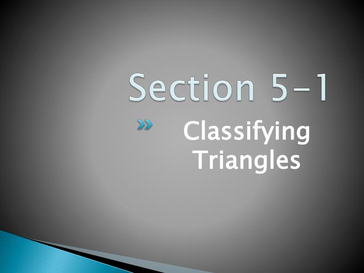 Section 5 1
