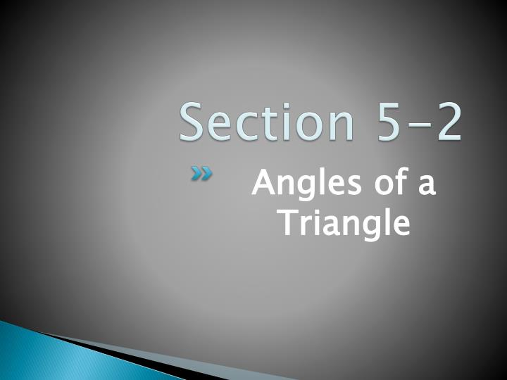 Section 5-2