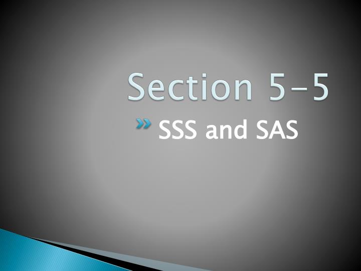 Section 5-5