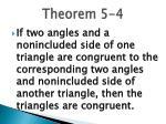theorem 5 4
