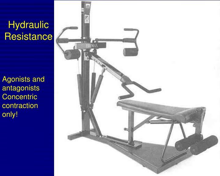 Hydraulic Resistance