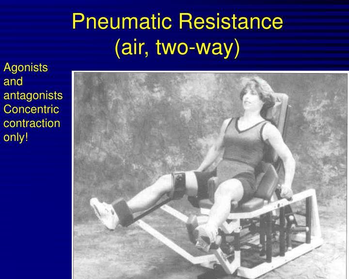 Pneumatic Resistance