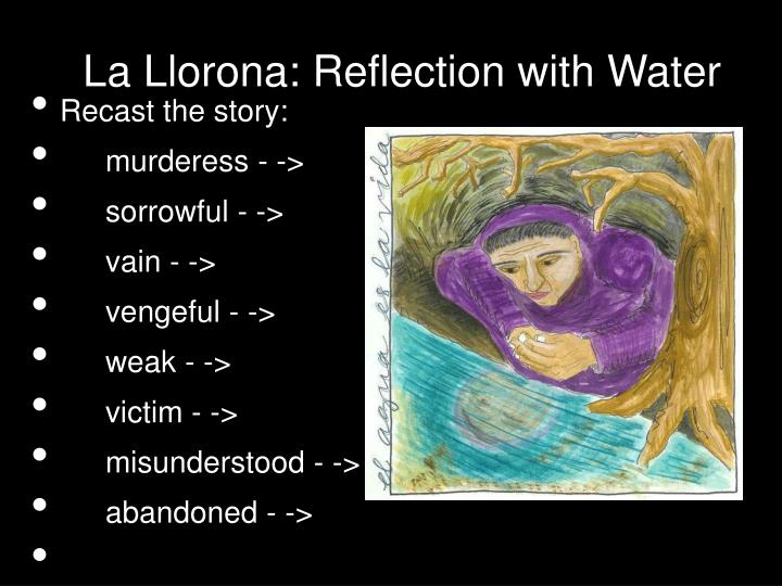 La Llorona: Reflection with Water