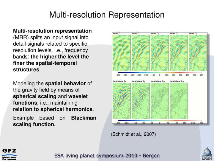 Multi-resolution Representation