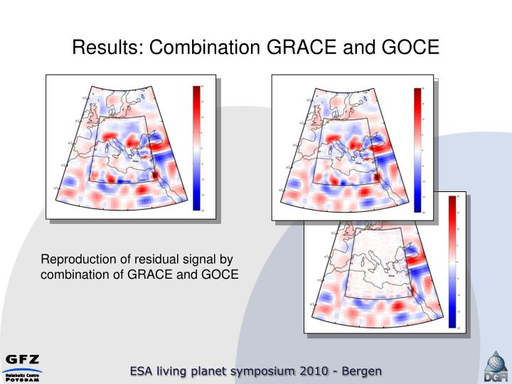 Results: Combination GRACE and GOCE