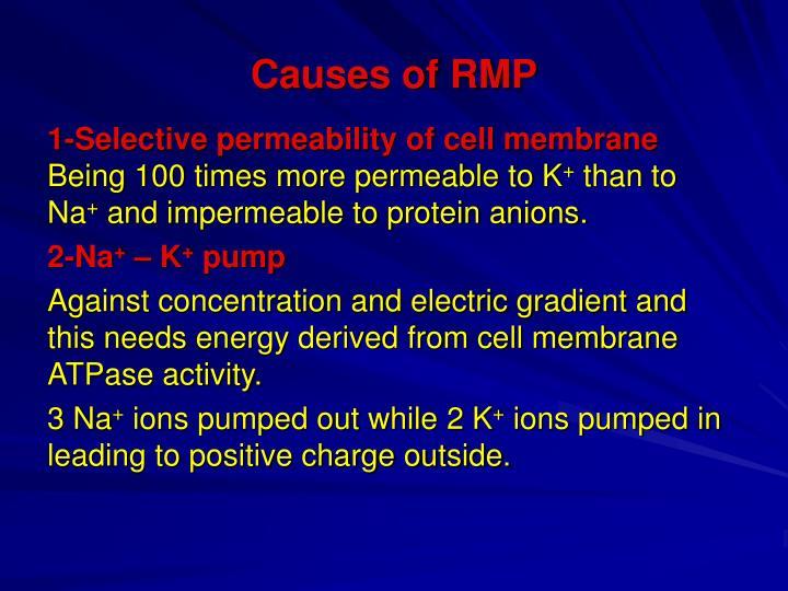 Causes of RMP