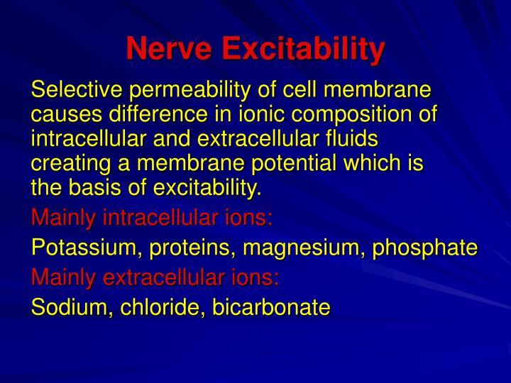 Nerve Excitability