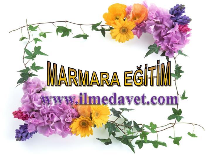 MARMARA EĞİTİM