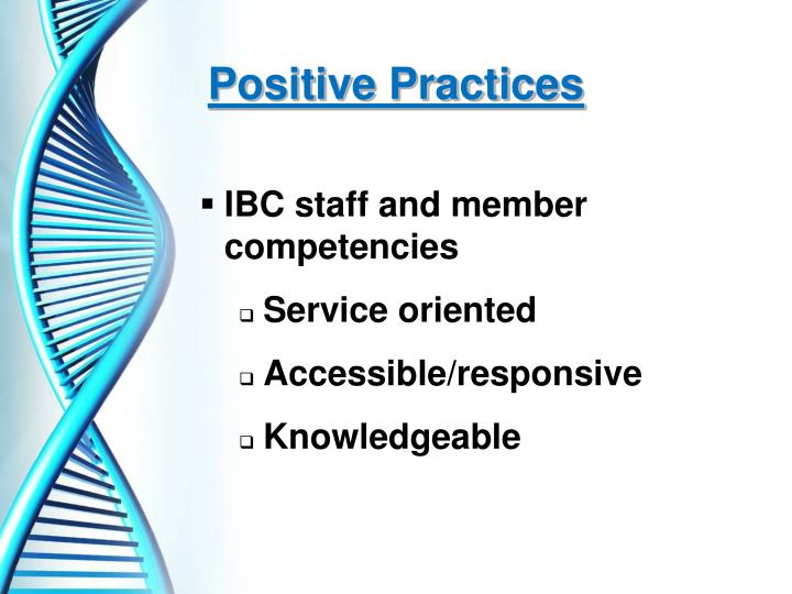 Positive Practices