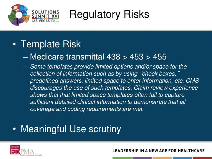 Regulatory Risks