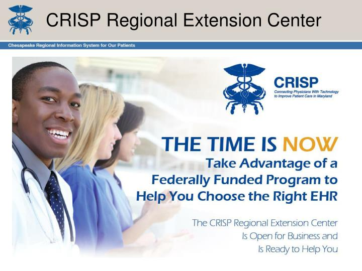CRISP Regional Extension Center