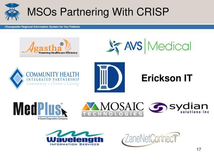 MSOs Partnering With CRISP