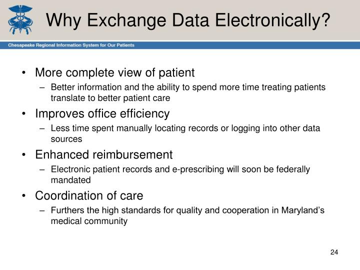 Why Exchange Data Electronically?