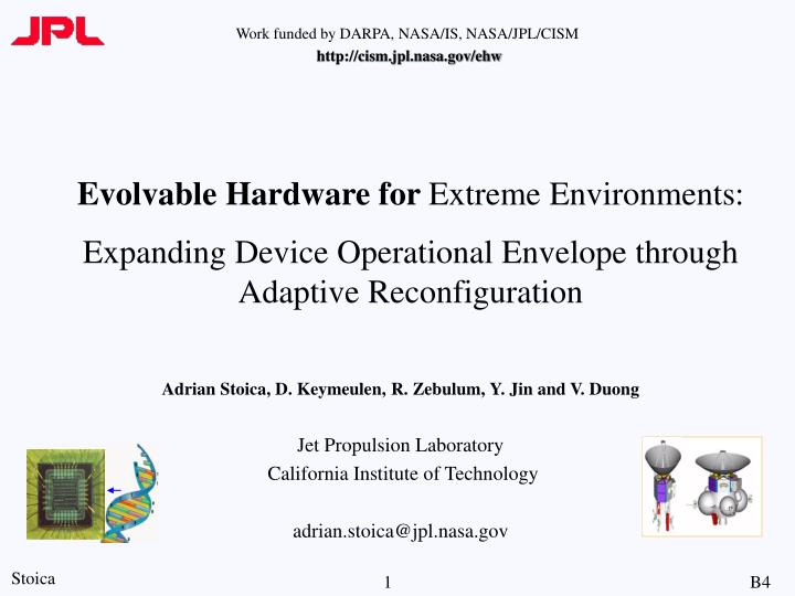 Evolvable Hardware for