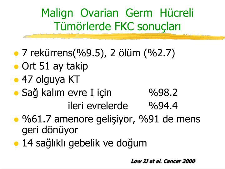 Malign  Ovarian  Germ