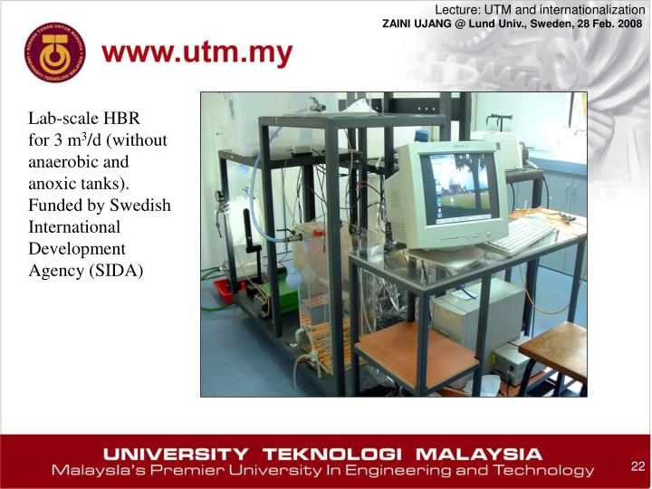 Lab-scale HBR