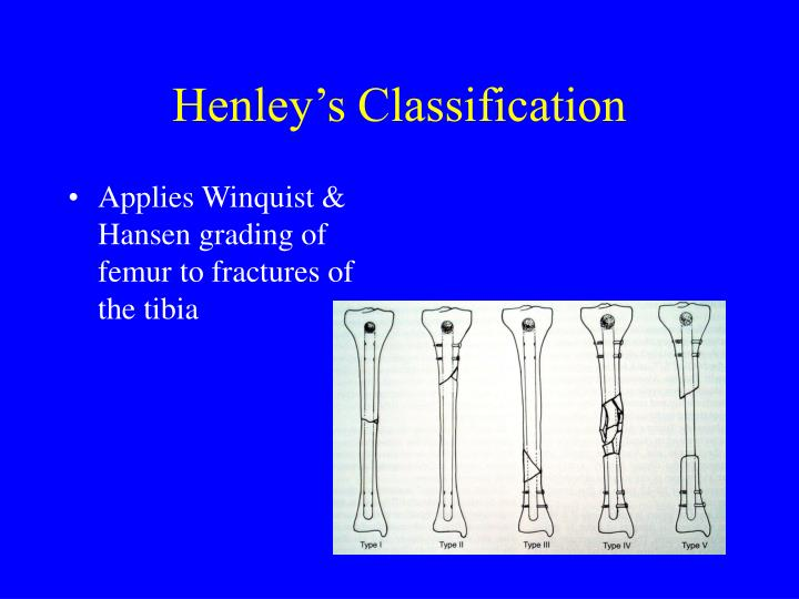 Henley's Classification