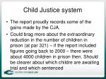child justice system