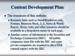 content development plan1