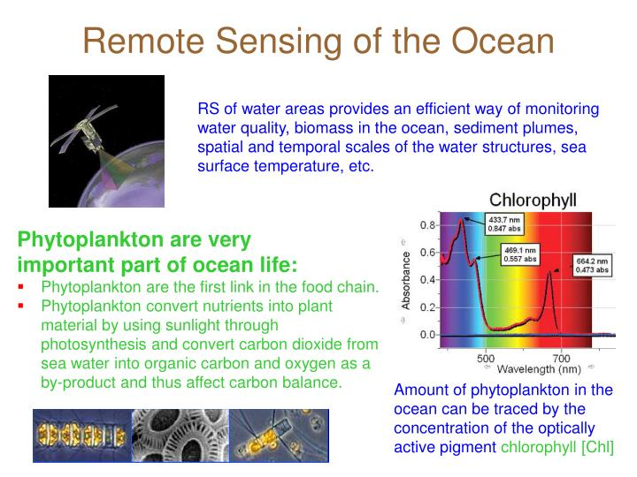Remote Sensing of the Ocean