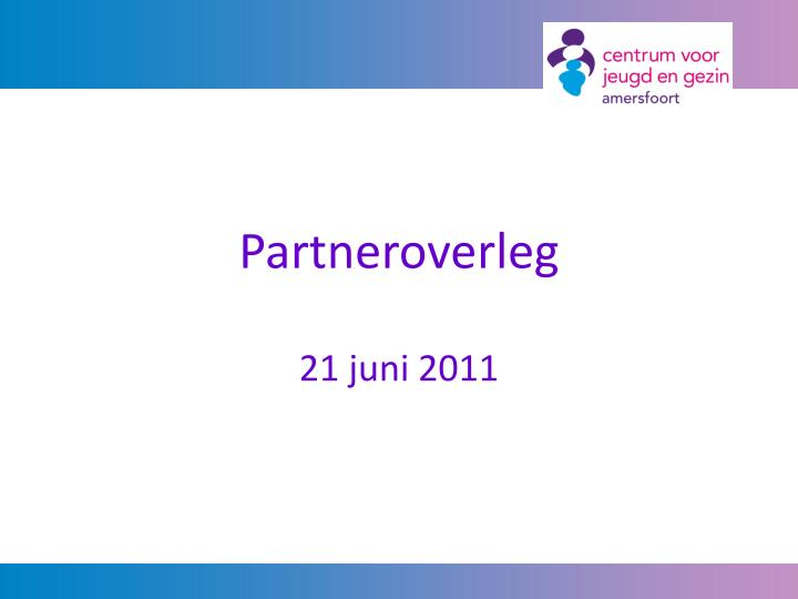 Partneroverleg