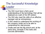 the successful knowledge leader