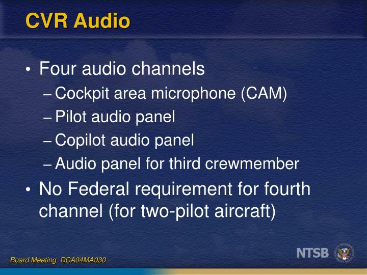 CVR Audio
