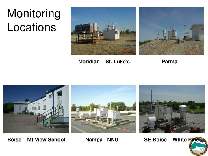 Monitoring Locations
