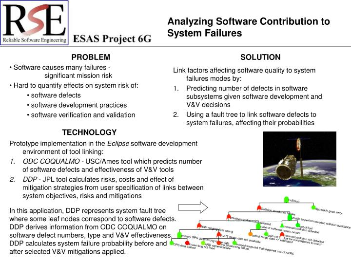 Analyzing Software Contribution to System Failures