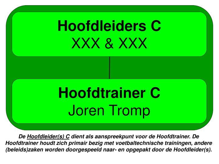 Hoofdleiders C