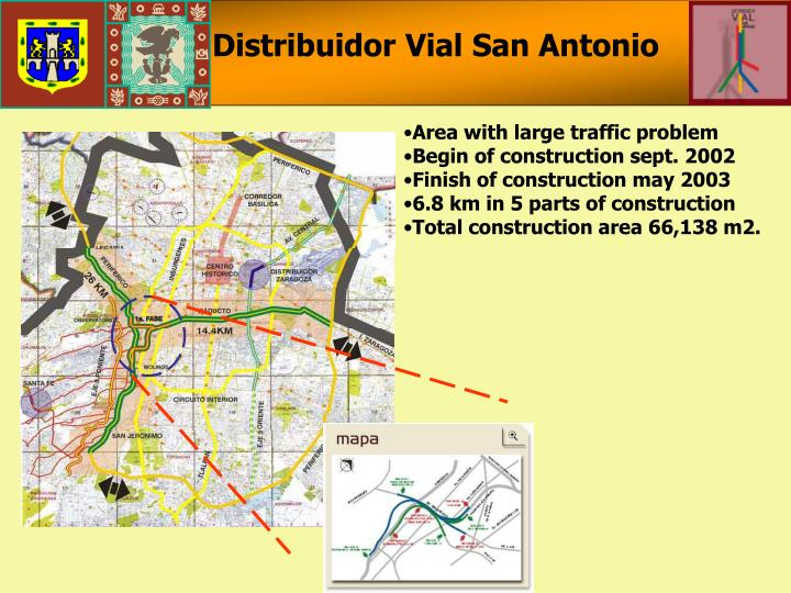 Distribuidor Vial San Antonio