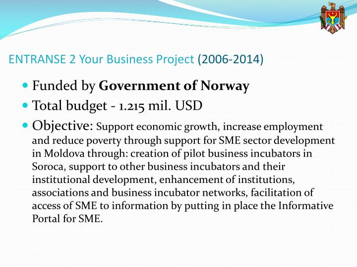 ENTRANSE 2 Your Business Project