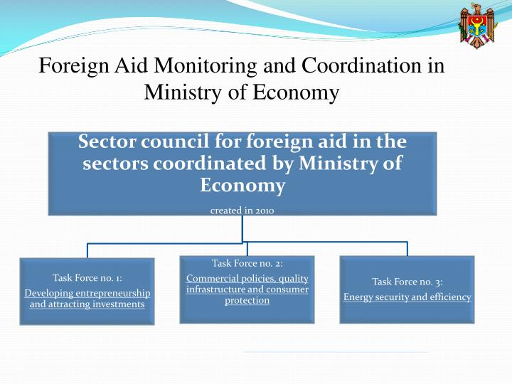 Foreign Aid Monitoring and Coordination in Ministry of Economy