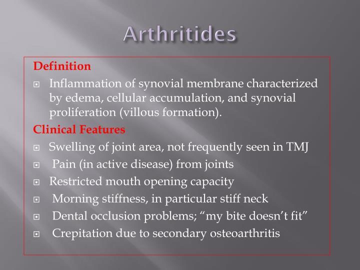 Arthritides