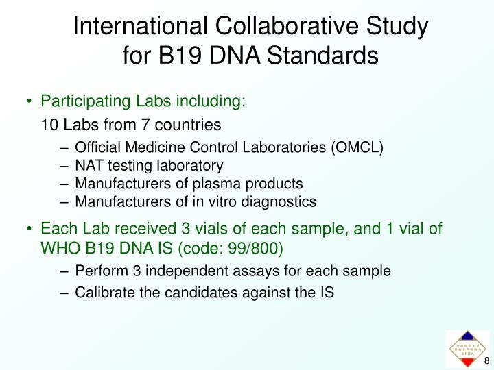 International Collaborative Study